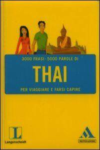 Libro Langenscheidt. Thai per viaggiare e farsi capire