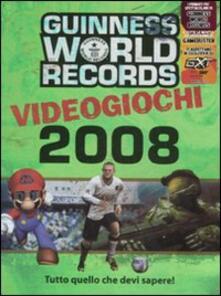Promoartpalermo.it Guinness World Records 2008. Videogiochi. Ediz. illustrata Image