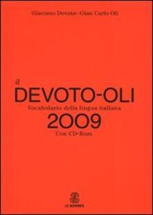Osteriamondodoroverona.it Il Devoto-Oli. Vocabolario della lingua italiana 2009 Image