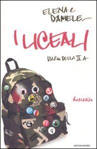 Libro I liceali. Diario della II A Elena & Daniele
