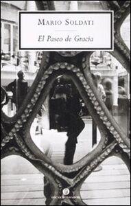 Libro El Paseo de Gracia Mario Soldati