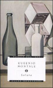 Libro Satura Eugenio Montale