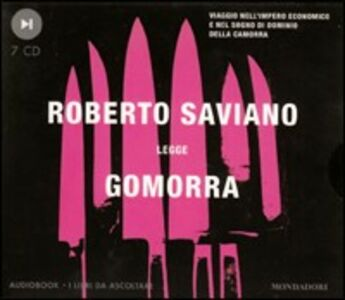 Foto Cover di Gomorra. Audiolibro. 7 CD Audio, Libro di Roberto Saviano, edito da Mondadori