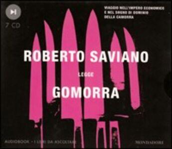 Libro Gomorra. Audiolibro. 7 CD Audio Roberto Saviano