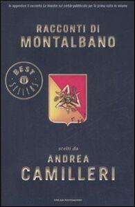 Foto Cover di Racconti di Montalbano, Libro di Andrea Camilleri, edito da Mondadori