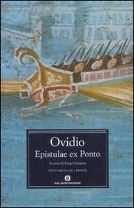 Epistulae ex Ponto. Testo latino a fronte