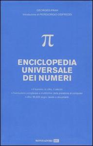 Libro Enciclopedia universale dei numeri Georges Ifrah