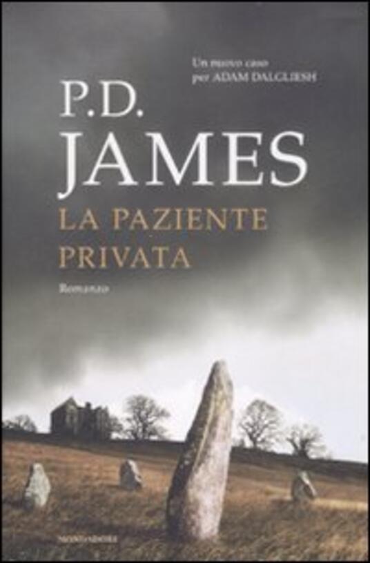 La paziente privata - P. D. James - copertina