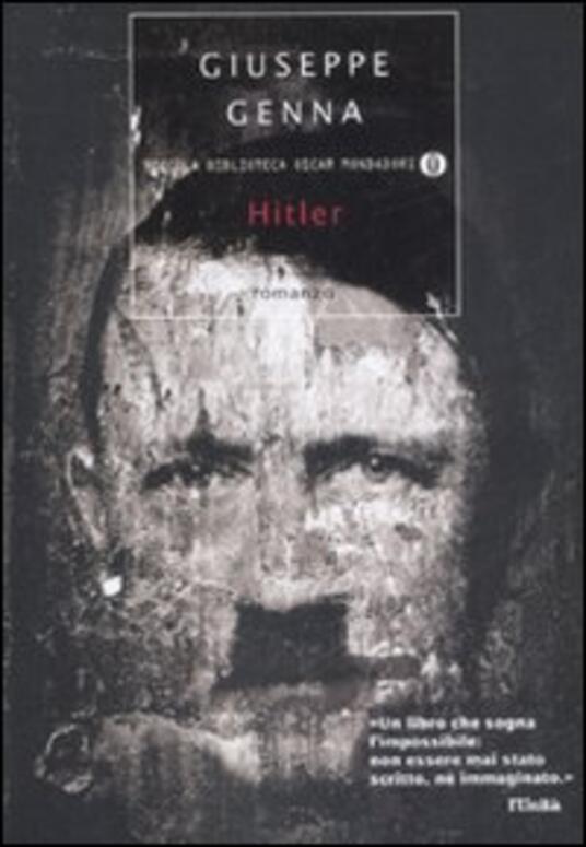 Hitler - Giuseppe Genna - copertina