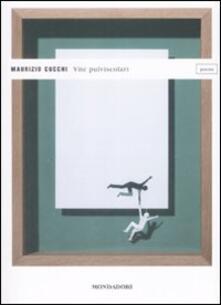 Vite pulviscolari - Maurizio Cucchi - copertina
