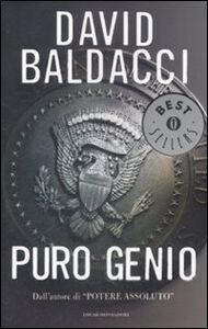 Foto Cover di Puro genio, Libro di David Baldacci, edito da Mondadori