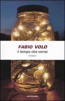 Il tempo che vorrei - Fabio Volo - copertina