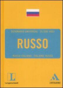 Foto Cover di Langenscheidt. Russo. Russo-italiano, italiano-russo, Libro di  edito da Mondadori