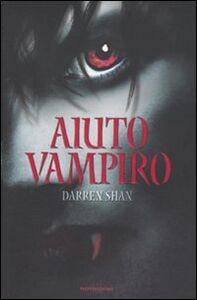 Libro Aiuto vampiro Darren Shan