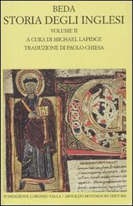 Storia degli inglesi. Testo latino a fronte. Vol. 2: Libri III-IV.