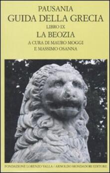 Librisulladiversita.it Guida della Grecia. Vol. 9: La Boezia. Image