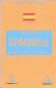 Libro Langenscheidt. Spagnolo. Spagnolo-italiano, italiano-spagnolo
