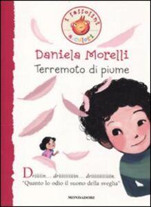 Libro Terremoto di piume Daniela Morelli