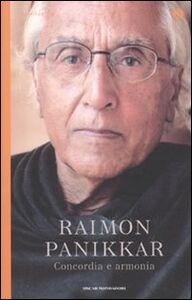 Libro Concordia e armonia Raimon Panikkar