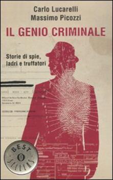 Festivalshakespeare.it Il genio criminale. Storie di spie, ladri e truffatori Image