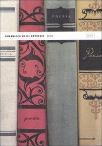 Libro Almanacco dello specchio 2009. Poesia