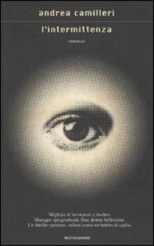 L' intermittenza - Andrea Camilleri - copertina