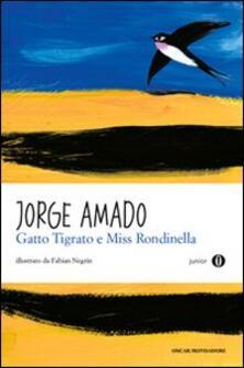 Gatto Tigrato e Miss Rondinella - Jorge Amado - copertina