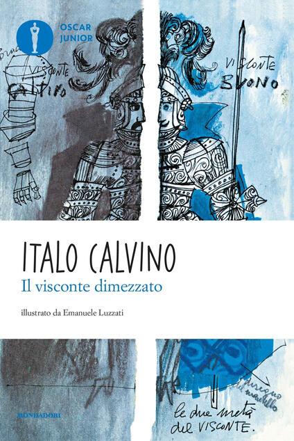 Il visconte dimezzato - Italo Calvino - copertina