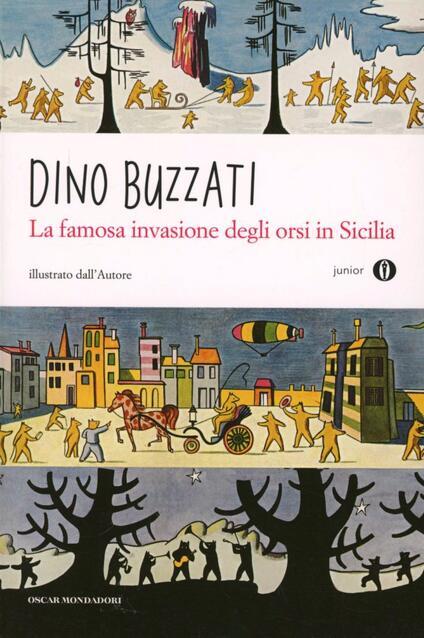 La famosa invasione degli orsi in Sicilia - Dino Buzzati - copertina