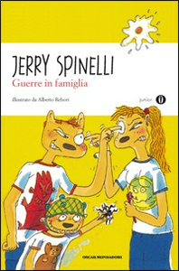 Libro Guerre in famiglia Jerry Spinelli