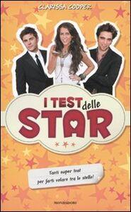 Libro I test delle star Clarissa Cooper