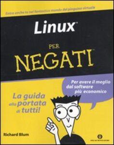 Libro Linux per negati Richard Blum