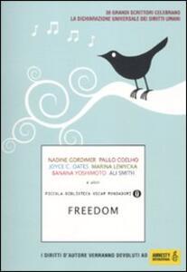 Freedom - copertina