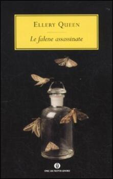 Le falene assassinate - Ellery Queen - copertina