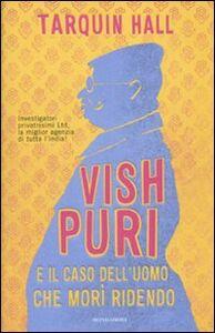 Libro Vish Puri e il caso dell'uomo che morì ridendo Tarquin Hall
