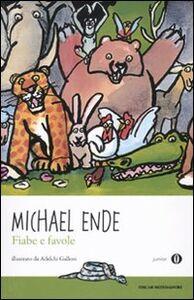 Libro Fiabe e favole Michael Ende