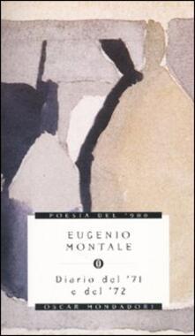 Diario del '71 e del '72 - Eugenio Montale - copertina