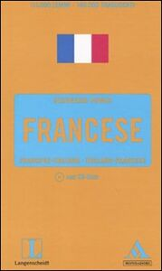 Libro Langenscheidt. Francese. Francese-italiano, italiano-francese. Con CD-ROM