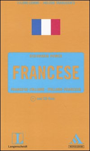 Libro Langenscheidt. Francese. Francese-italiano, italiano-francese. Con CD-ROM