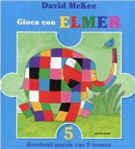 Libro Gioca con Elmer David McKee