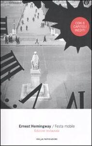 Foto Cover di Festa mobile, Libro di Ernest Hemingway, edito da Mondadori