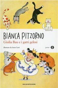 Libro Giulia Bau e i gatti gelosi Bianca Pitzorno