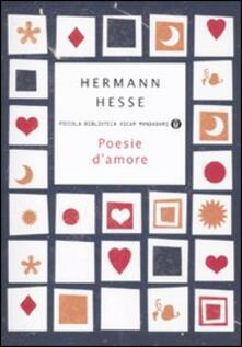 Poesie d'amore - Hermann Hesse - copertina