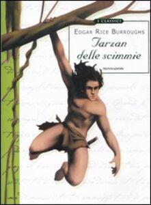 Libro Tarzan delle scimmie Edgar R. Burroughs