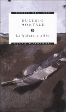La bufera e altro - Eugenio Montale - copertina
