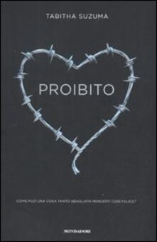 Proibito - Tabitha Suzuma - copertina