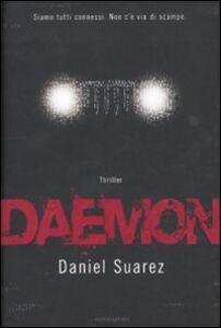 Foto Cover di Daemon, Libro di Daniel Suarez, edito da Mondadori