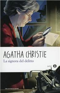 Libro La signora del delitto Agatha Christie