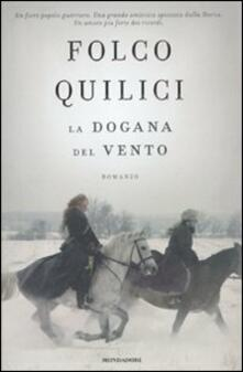 La dogana del vento - Folco Quilici - copertina
