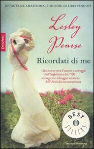 Libro Ricordati di me Lesley Pearse